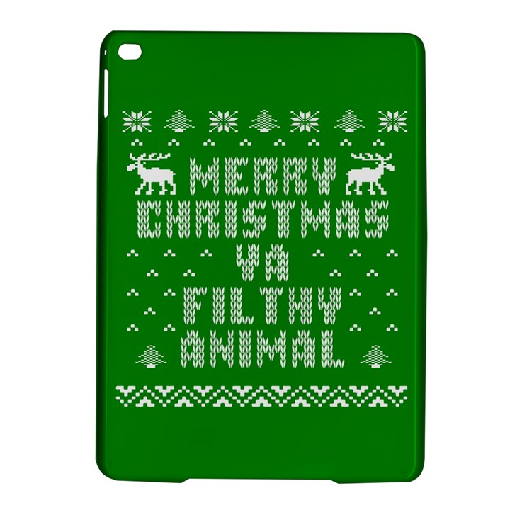 Ugly Christmas Ya Filthy Animal iPad Air 2 Hardshell Cases