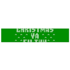 Ugly Christmas Ya Filthy Animal Flano Scarf (Small)