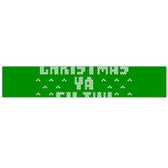 Ugly Christmas Ya Filthy Animal Flano Scarf (Large)