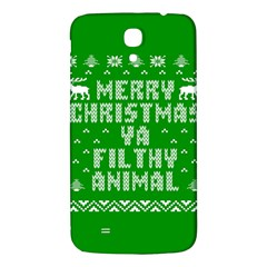 Ugly Christmas Ya Filthy Animal Samsung Galaxy Mega I9200 Hardshell Back Case