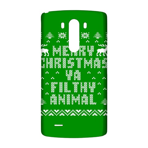 Ugly Christmas Ya Filthy Animal LG G3 Back Case