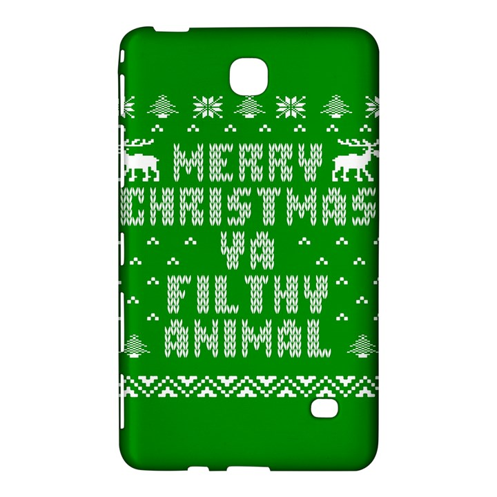 Ugly Christmas Ya Filthy Animal Samsung Galaxy Tab 4 (7 ) Hardshell Case