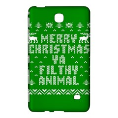 Ugly Christmas Ya Filthy Animal Samsung Galaxy Tab 4 (8 ) Hardshell Case