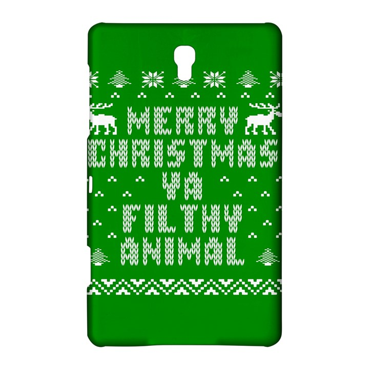 Ugly Christmas Ya Filthy Animal Samsung Galaxy Tab S (8.4 ) Hardshell Case