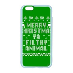 Ugly Christmas Ya Filthy Animal Apple Seamless iPhone 6/6S Case (Color)