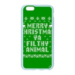 Ugly Christmas Ya Filthy Animal Apple Seamless iPhone 6/6S Case (Color) Front