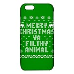 Ugly Christmas Ya Filthy Animal iPhone 6/6S TPU Case Front