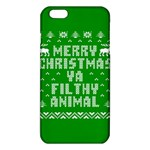 Ugly Christmas Ya Filthy Animal iPhone 6 Plus/6S Plus TPU Case Front