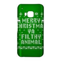 Ugly Christmas Ya Filthy Animal HTC One M9 Hardshell Case