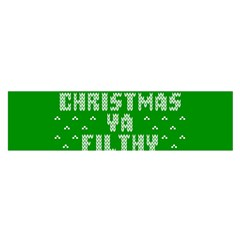 Ugly Christmas Ya Filthy Animal Satin Scarf (Oblong)