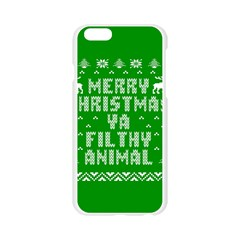 Ugly Christmas Ya Filthy Animal Apple Seamless iPhone 6/6S Case (Transparent)