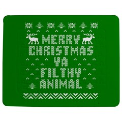 Ugly Christmas Ya Filthy Animal Jigsaw Puzzle Photo Stand (Rectangular)