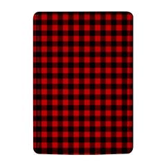 Lumberjack Plaid Fabric Pattern Red Black Kindle 4