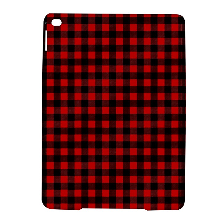 Lumberjack Plaid Fabric Pattern Red Black iPad Air 2 Hardshell Cases
