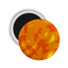 Orange decor 2.25  Magnets