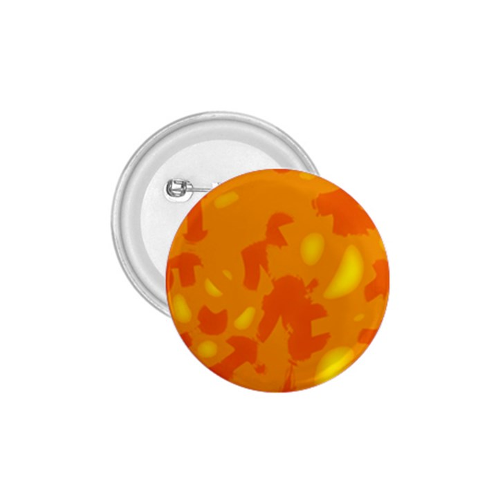 Orange decor 1.75  Buttons