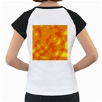 Orange decor Women s Cap Sleeve T Back