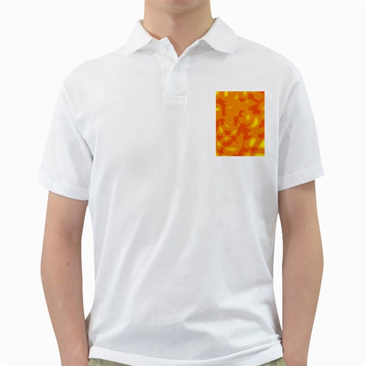 Orange decor Golf Shirts
