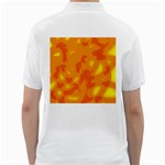 Orange decor Golf Shirts Back