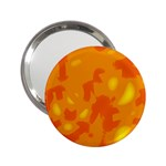 Orange decor 2.25  Handbag Mirrors Front