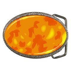 Orange decor Belt Buckles