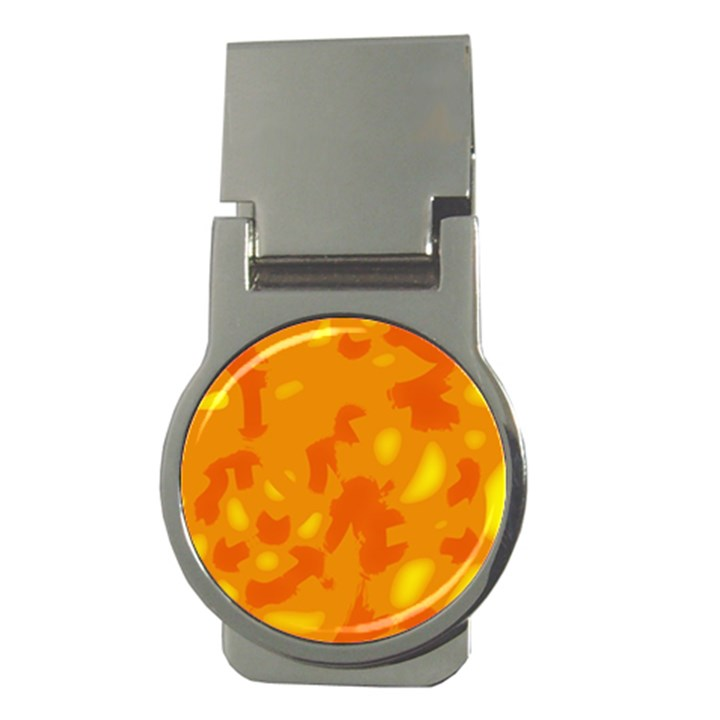 Orange decor Money Clips (Round)