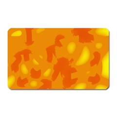 Orange Decor Magnet (rectangular)