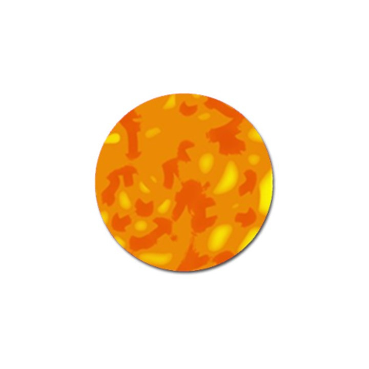 Orange decor Golf Ball Marker
