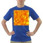 Orange decor Dark T-Shirt Front