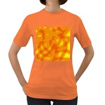 Orange decor Women s Dark T-Shirt Front