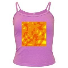 Orange decor Dark Spaghetti Tank