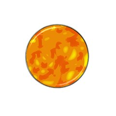 Orange Decor Hat Clip Ball Marker (10 Pack)