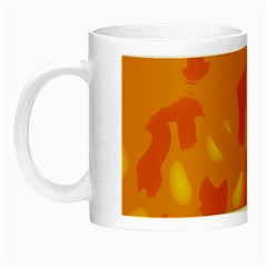 Orange Decor Night Luminous Mugs