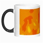 Orange decor Morph Mugs Left