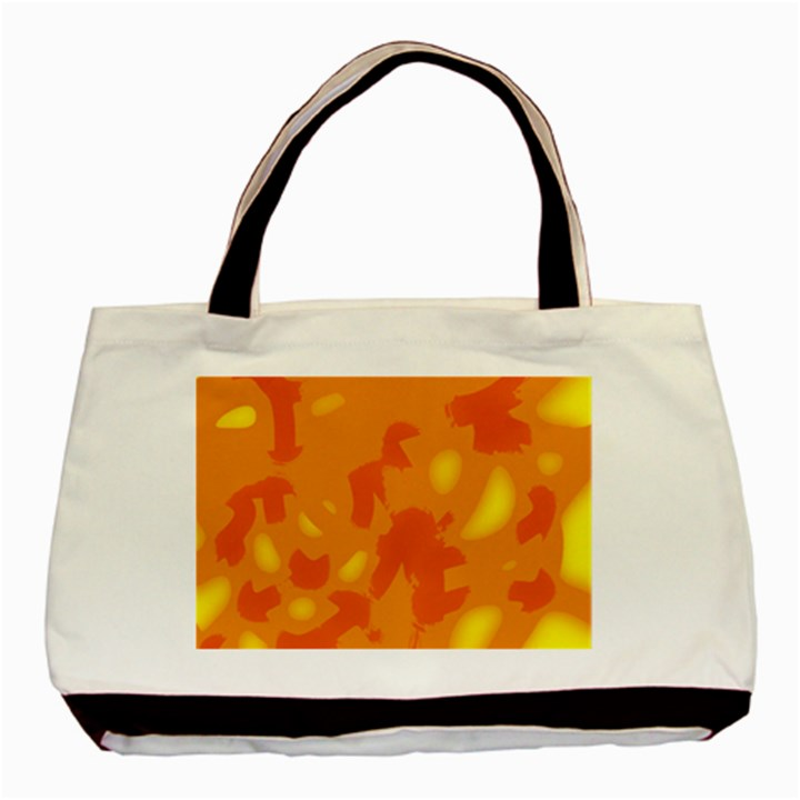 Orange decor Basic Tote Bag