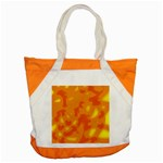 Orange decor Accent Tote Bag Front