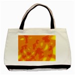 Orange decor Basic Tote Bag (Two Sides) Back