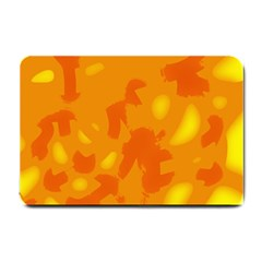 Orange Decor Small Doormat