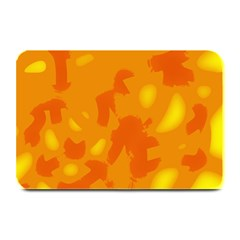 Orange decor Plate Mats