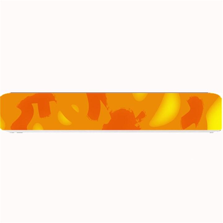 Orange decor Small Bar Mats