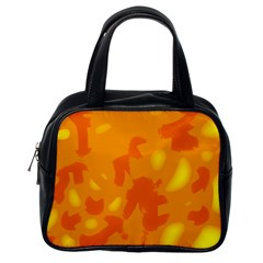 Orange decor Classic Handbags (One Side)
