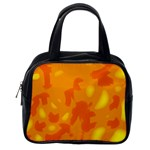 Orange decor Classic Handbags (One Side) Front