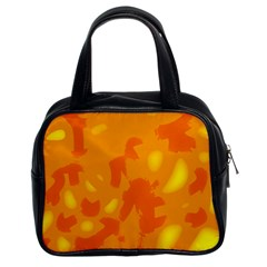 Orange Decor Classic Handbags (2 Sides)
