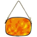 Orange decor Chain Purses (One Side)  Front