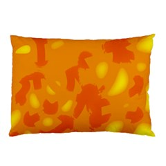 Orange decor Pillow Case