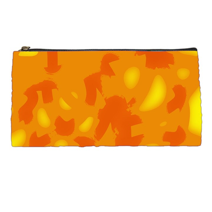 Orange decor Pencil Cases