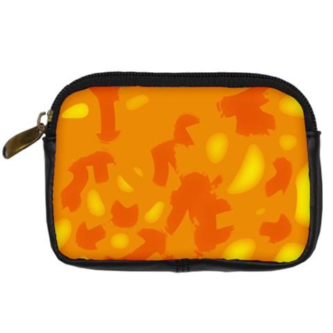 Orange decor Digital Camera Cases
