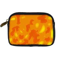 Orange decor Digital Camera Cases