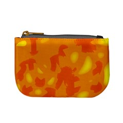 Orange decor Mini Coin Purses
