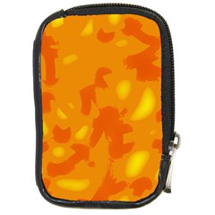 Orange decor Compact Camera Cases